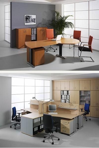 NO+BL Kancelářský nábytek - S-LINE