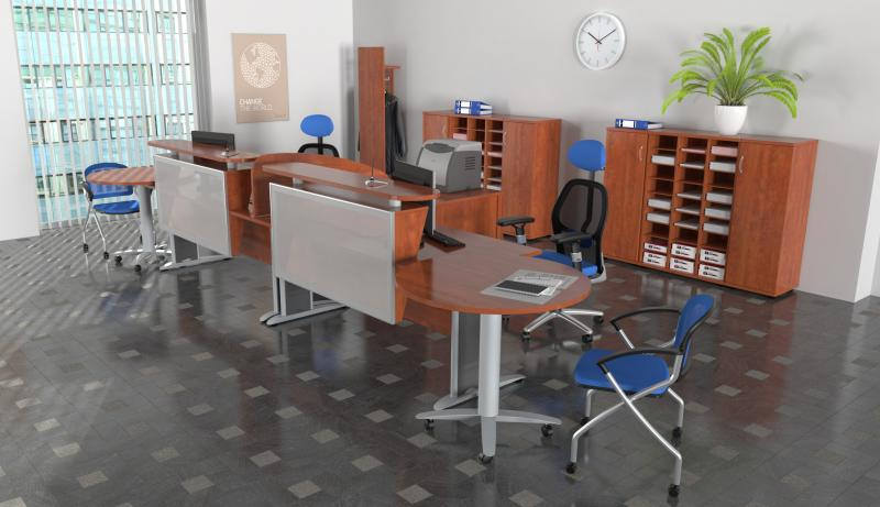 2013 - Ergonomický nábytek do kanceláře  #Design